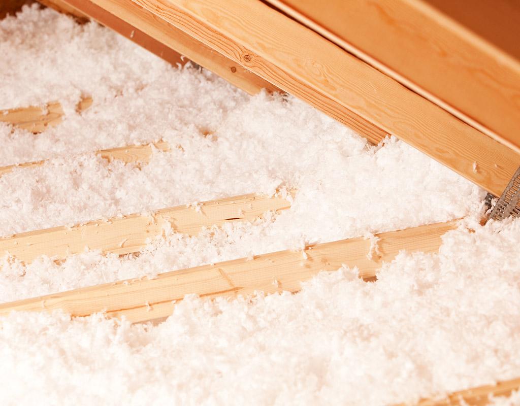 isolation laine de verre soufflée